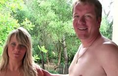 Mature German Amateur Couple Fuck At The Cottage