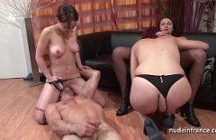 French Women Fucked And Licked In The Pussy