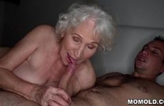 Broom With Wrinkled Pussy Fucks Hard With The Most Perverted Man