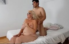 Mature Blonde Has Hard Sex With Her Lover With Internal Completion
