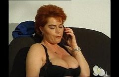 Mature Redhead With Big Breasts Fucked By A German