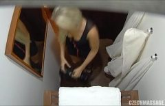 Good Blonde Filmed With Hidden Camera While Fucking Massage Parlor