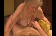 The 90-year-old Grandmother Is Doing Porn With Her Young Nephew