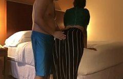 A Fat Man Fucks His Mistress In A Hotel