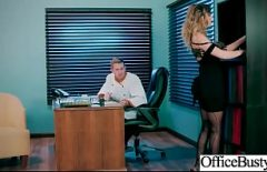 She's A Big Rag At Work Who Fucks Her Boss Even If She's Married