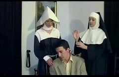 Two Slutty Arabian Women Take A Dick From A Perverted Man
