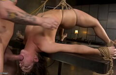 He Ties Her Up And Fucks Her The Way He Likes