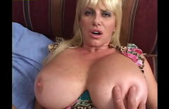 Busty Milf Gets Your Dick Up With Giant Tits