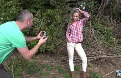 Amateur Frame Takes Some Pictures Of The Peasant And Then Comes The Urge To Fuck